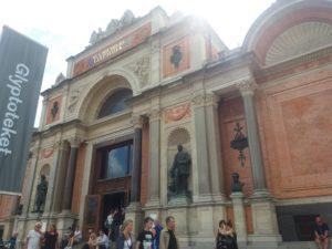Ny Carlsberg美術館の入口
