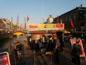 運河ツアーのチケット売り場