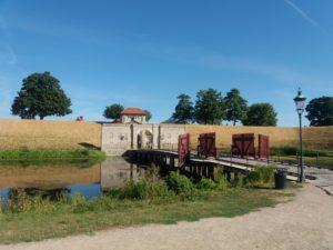 カステレット要塞の入口