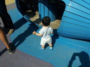 チボリ公園の子供向けコーナー