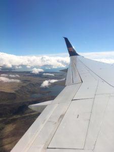 窓からのアイスランドの眺め