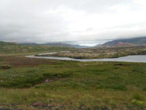 スネイフェルネス半島の眺め