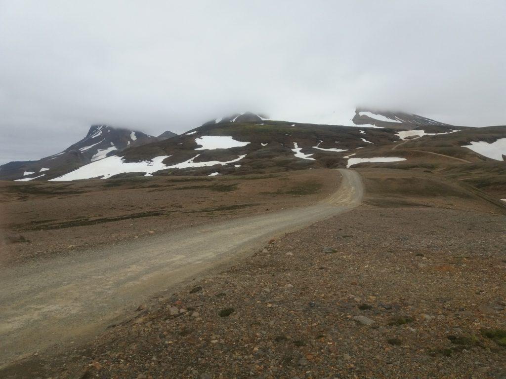 F347の山道へ