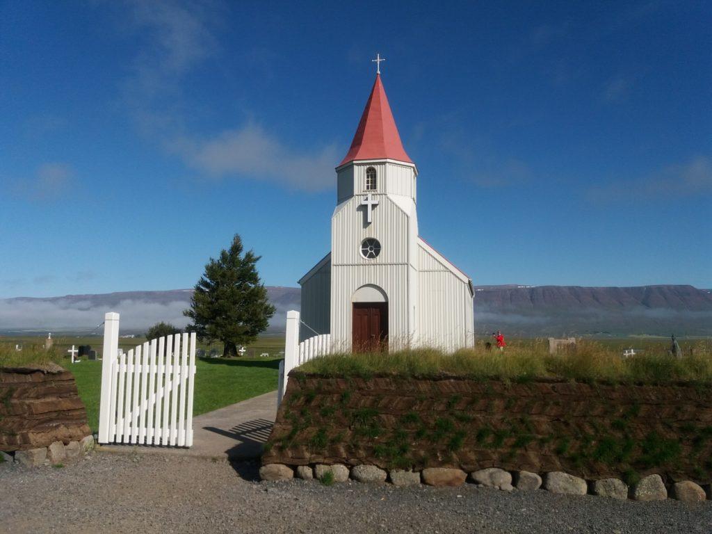Varmahlidの教会