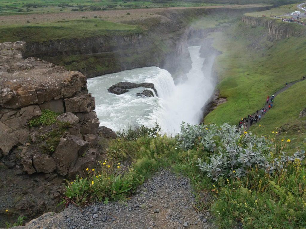 グトルフォスの下滝