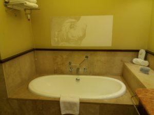 Vincciホテルのお風呂