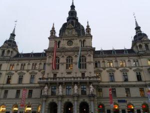 グラーツの中央広場
