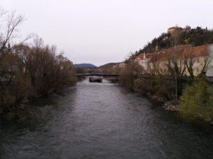 グラーツを走る河