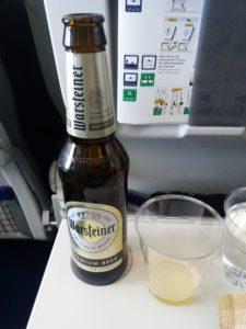 ルフトハンザのビール