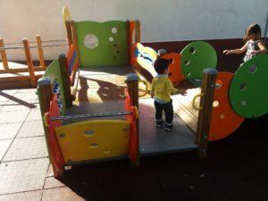 竜血樹公園の近くの児童公園