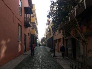 Puerto De La Cruzの街並み