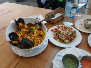 La Cofradia De Pescadoresで夕食
