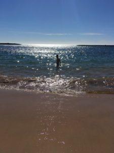 テネリフェのビーチ