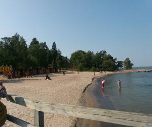 pihlajasaariのビーチ