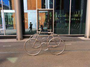 オスロの自転車置き場