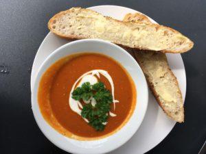 カフェの日替わりスープ