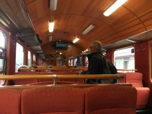 フロム鉄道の中