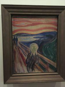 ムンク美術館の叫び