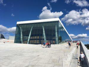オスロのオペラハウス
