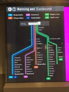 オスロの地下鉄