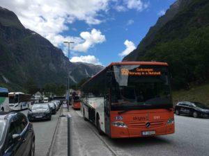 観光バスの950番