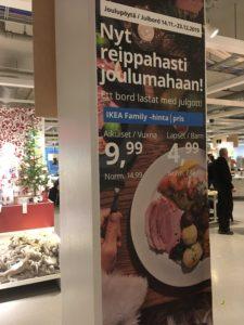 IKEAのブッフェ