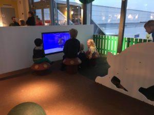 IKEAの遊戯コーナー