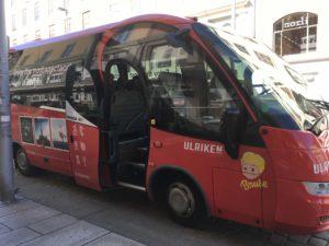 ウルリーケンへのツアーバス