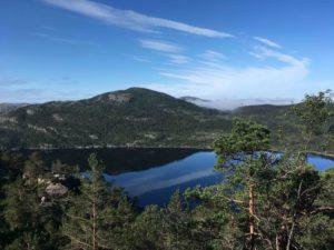 ノルウェーらしい景色