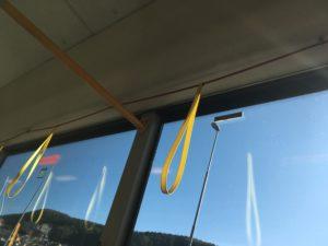 帰りの公共バス