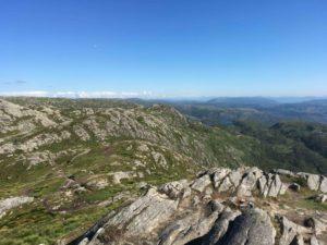 ウルリーケンの山の風景